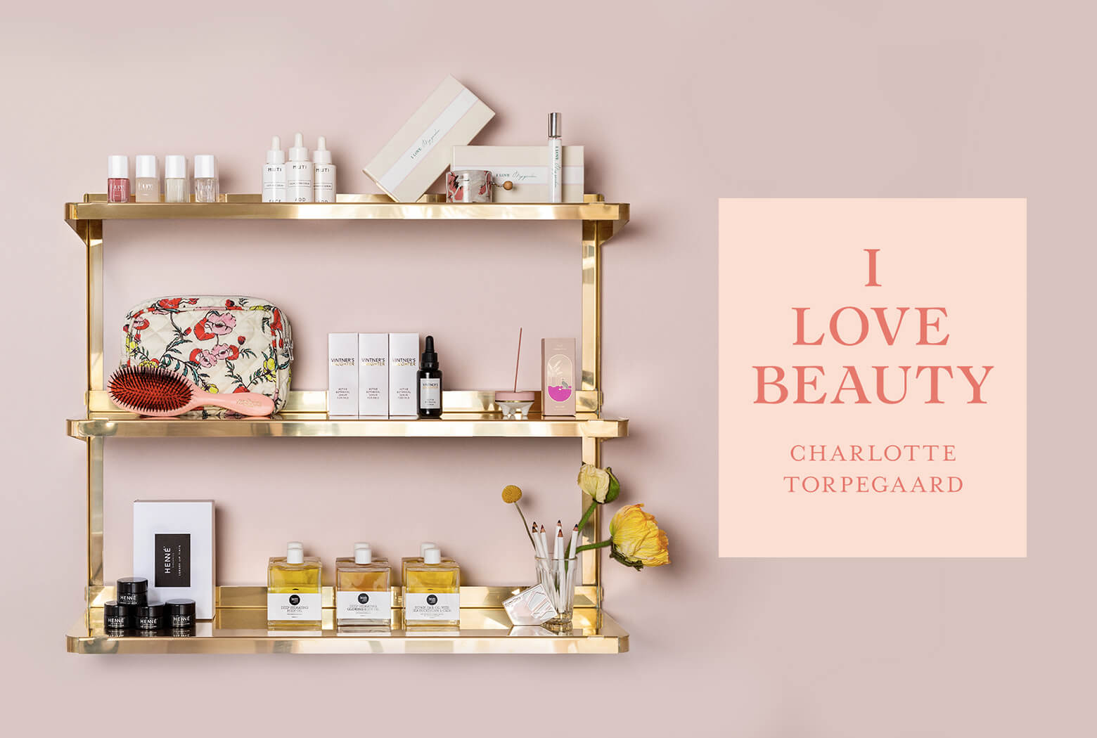Charlotte Torpegaard, beauty products