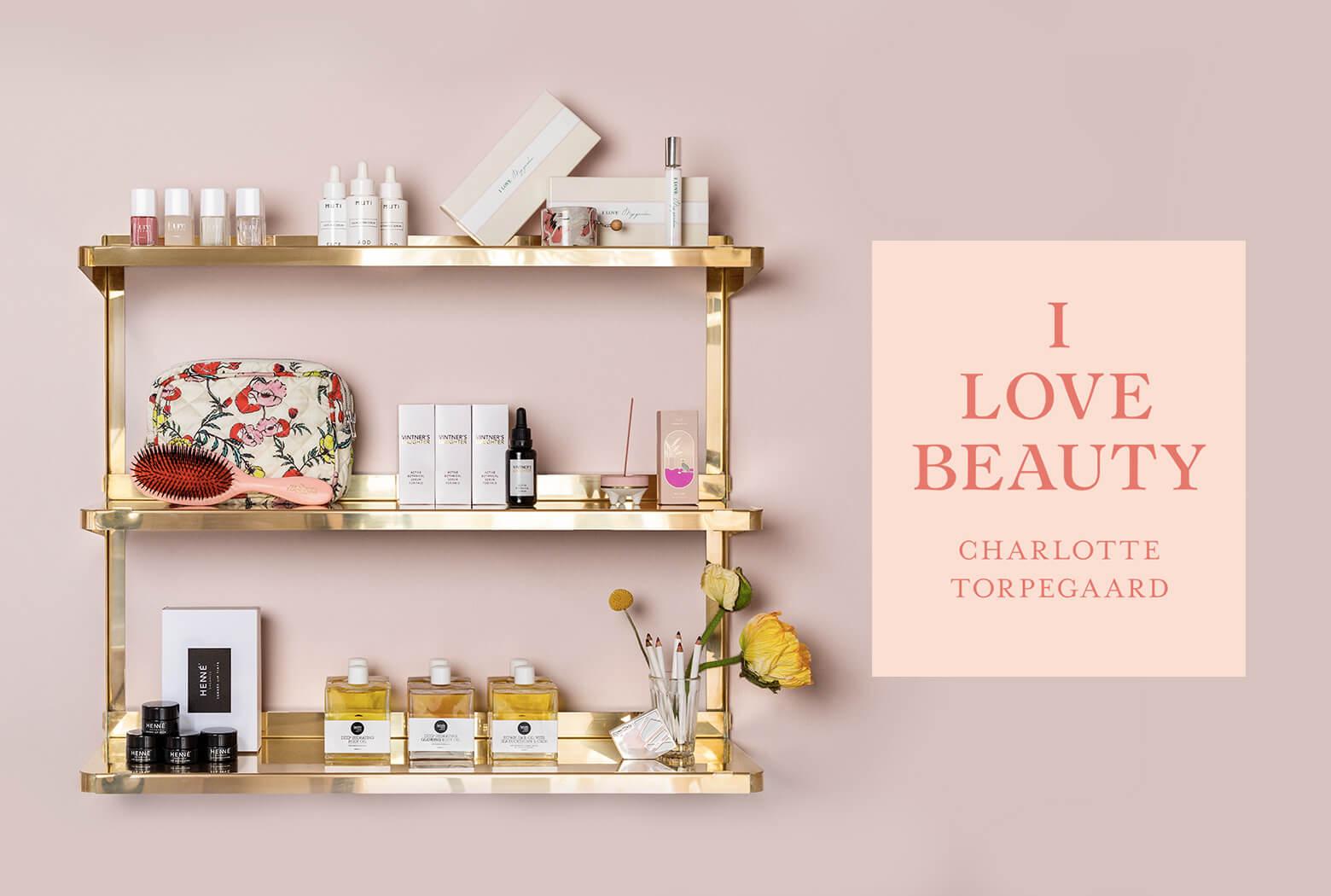 Nye Den dér tørbørstning - I LOVE BEAUTY / Charlotte Torpegaard QC-33